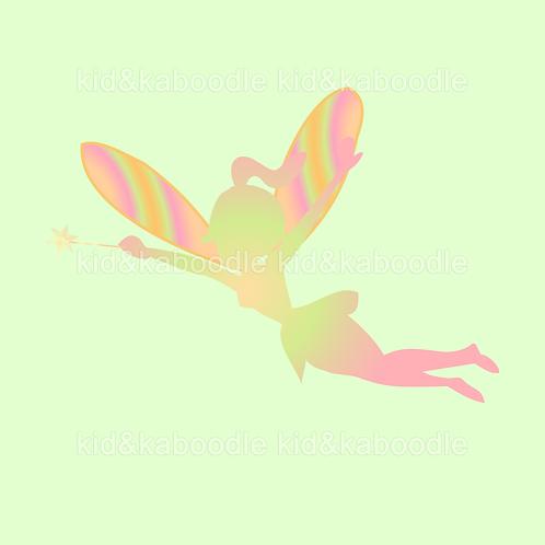 Poppy Silhoutte Fairy Print (DIGITAL)