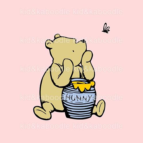 Pondering Pooh Print (DIGITAL)