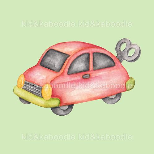 Toy Car Print (PHYSICAL)