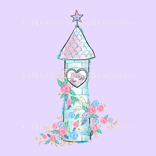 Faerie Tower Print (PHYSICAL)