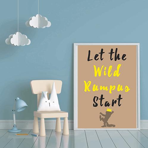 Let the Wild Rumpus Start (Digital Copy)
