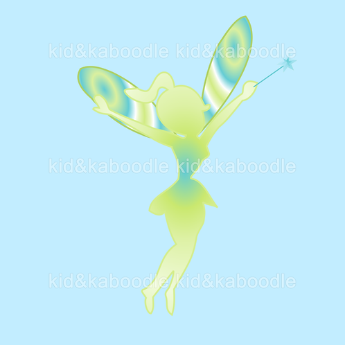 Lily Silhoutte Fairy Print (PHYSICAL)