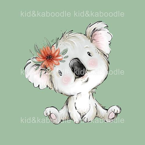 Baby Koala Print (PHYSICAL)