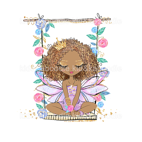 Lilac the Faerie Swing Print (PHYSICAL)