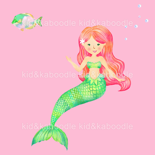 Jade the Mermaid Print