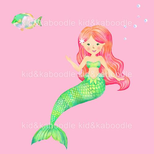 Jade the Mermaid Print (DIGITAL)