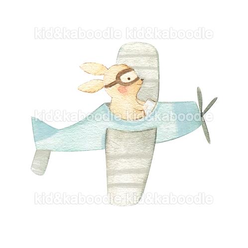 Rupert Rabbit Print (PHYSICAL)