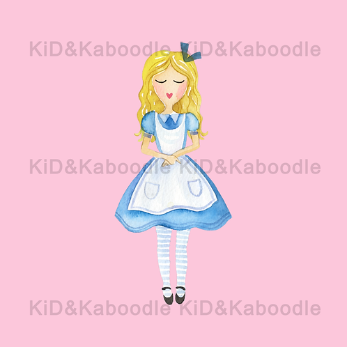Alice Standing Print (PHYSICAL)
