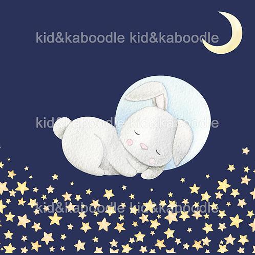 Dreaming Bunny Print (DIGITAL)