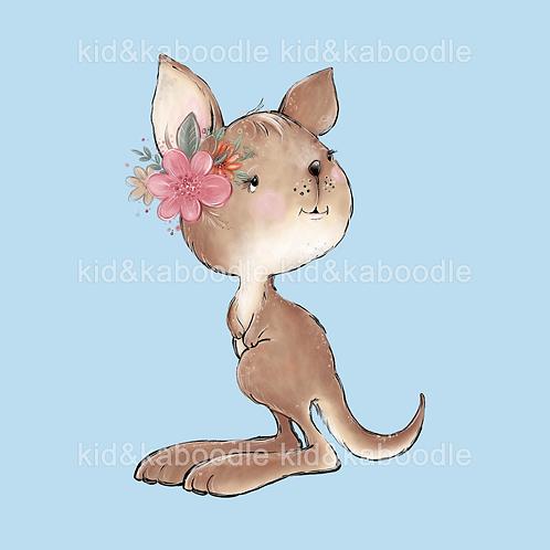 Baby Kangaroo Print (DIGITAL)