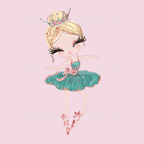 Nena Ballerina Print (DIGITAL)