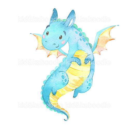 Darcy the Dragon Print (DIGITAL)