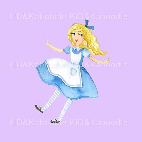 Alice Falling Print (DIGITAL)