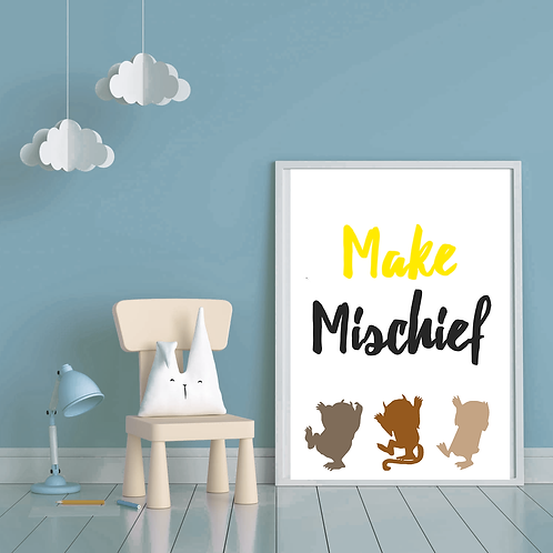 Make Mischief Print (Digital Copy)