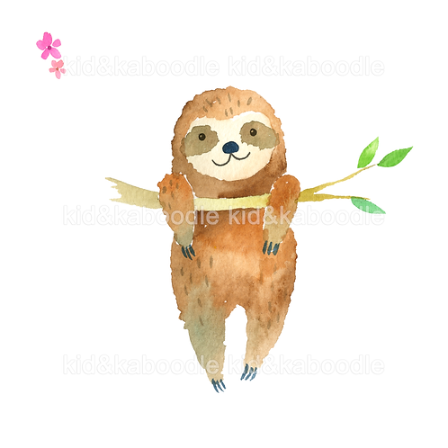 Sweetie Sloth Print (PHYSICAL)