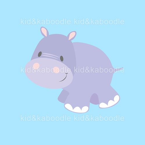 Holly the Hippo Print (PHYSICAL)