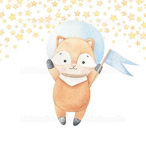 Astro Cat Print (DIGITAL)