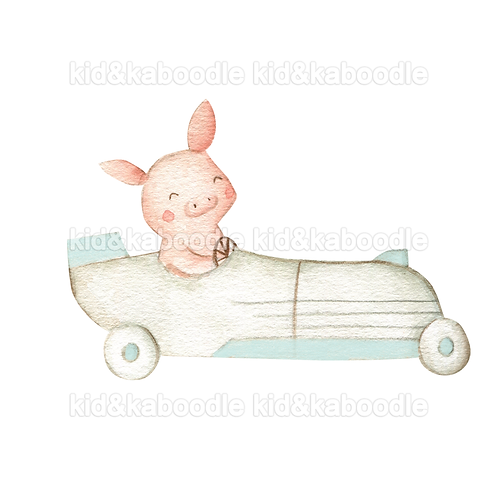 Pickles the Pig Print (DIGITAL)