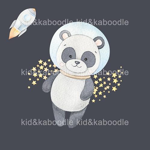 Cosmic Panda Print (PHYSICAL)
