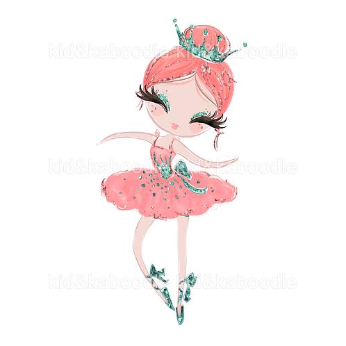 Tina Ballerina Print (PHYSICAL)