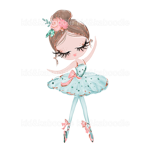 Mina Ballerina Print (PHYSICAL)