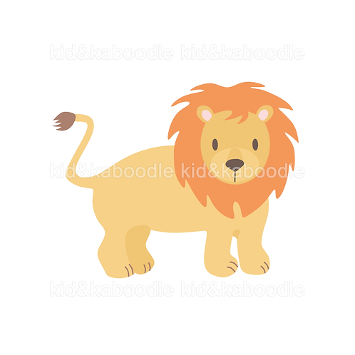 Lionel the Lion Print (PHYSICAL)