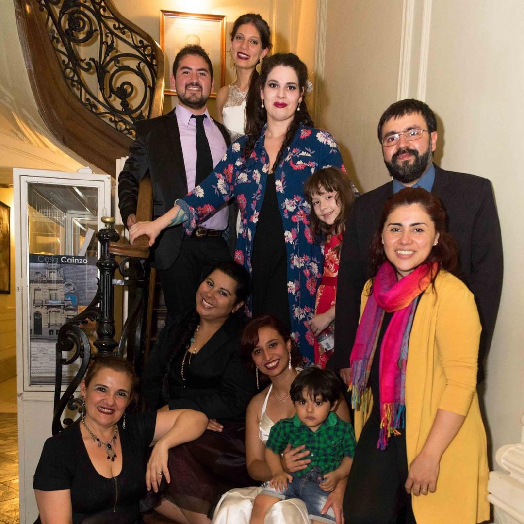 Alumnos del I serminario de técnica vocal -Tucumán