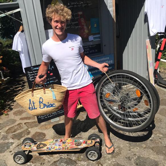 Florian répare vos vélos