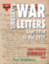 LINDSAYs WAR LETTERS 20 July 17 Cover co