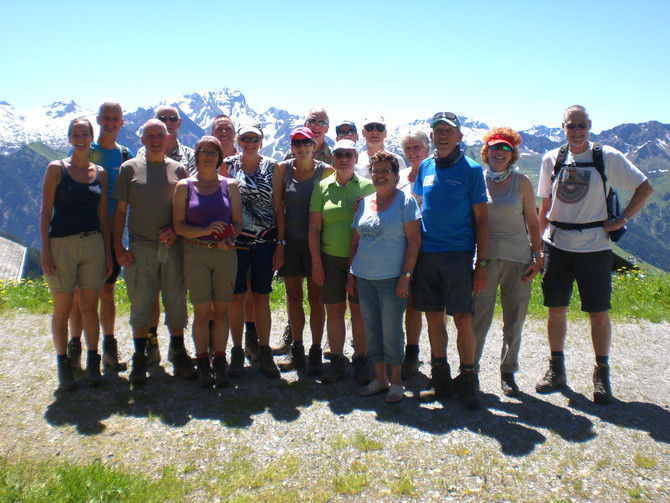 Wanderwoche mit der Gruppe Van Tuijl aus Holland