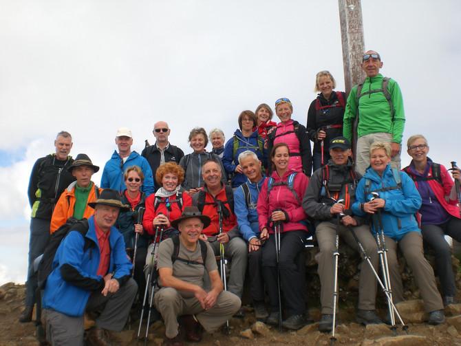 Wanderwoche mit der Gruppe Van Tuijl aus Holland.