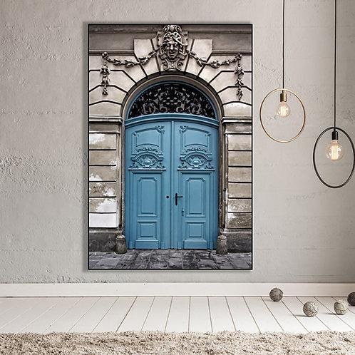 QUADRO BLUE DOOR