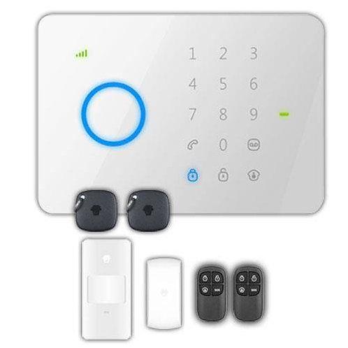 Kit d'alarme domestique GSM sans fil G5 - Chuango Système d'alarme complet avec