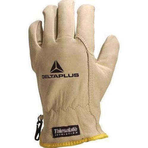 Deltaplus - 12 gants antifroid fleur de bovin