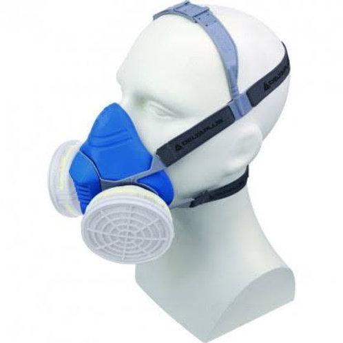 Demi masque respiratoire confort tri-matières jupiter bleu taille unique - masqu