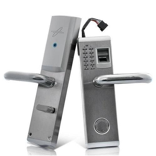 Poignet de porte à verrou biométrique