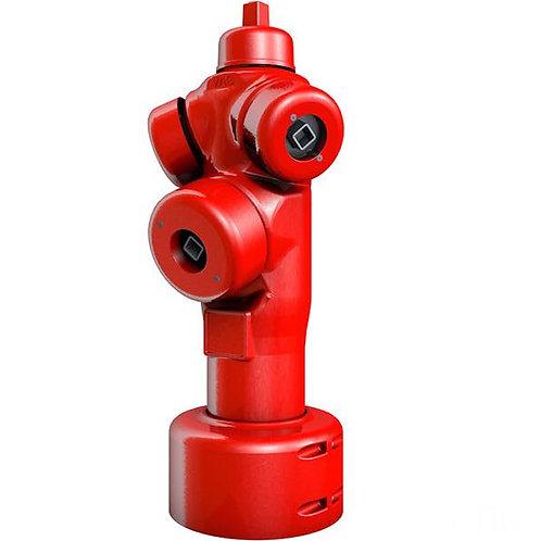 Bouche d'incendie avec blocage simple ou double et double-système de vidange.