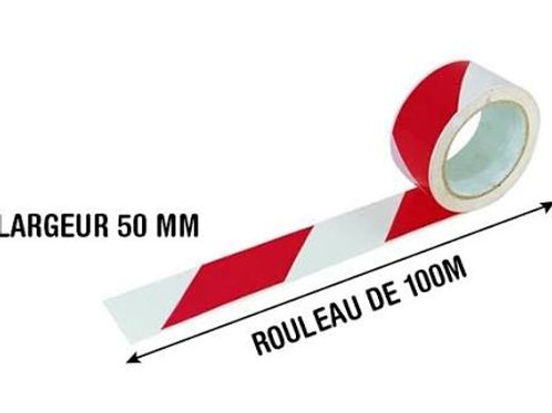 Ruban de signalisation (rubalise 100ml) - NOVAP