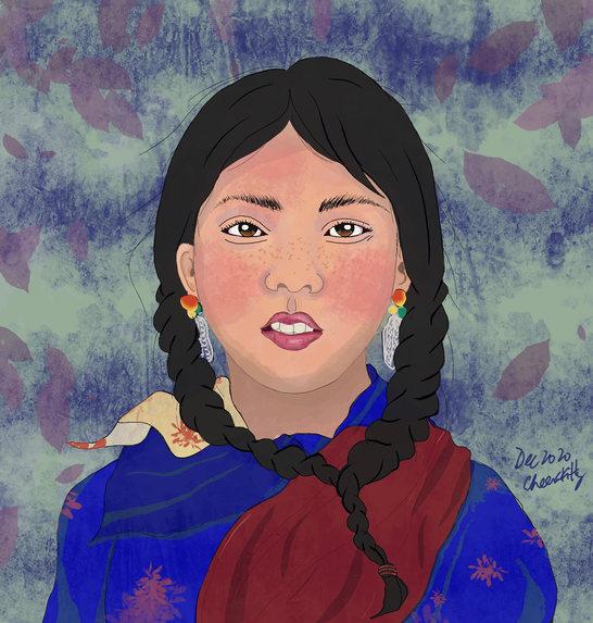 #184 girl portrait 3