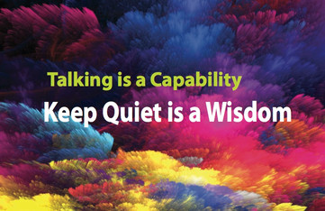 6 key moments to keep quiet, you will make a big difference