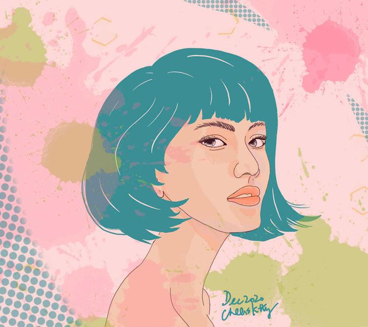 #183girl portrait 2