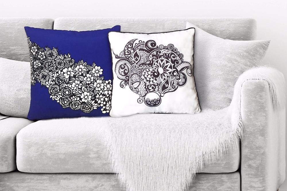 Cheer Box Artistic Cushion