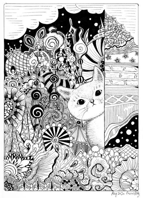 #171 August Cat