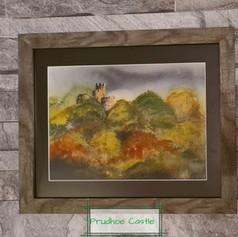 Prudhoe Castle, Autumn