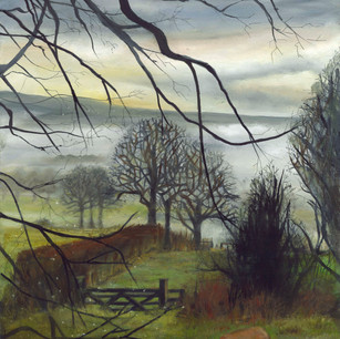Misty Morning,Mickley