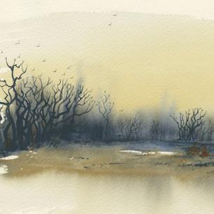 Winter Crows