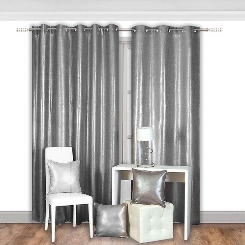 Carson Solid Blackout Grommet Single Curtain Panel