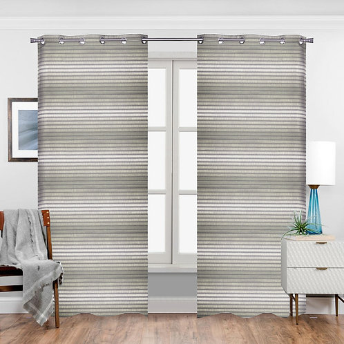 Camille Single Curtain Panel with Grommets