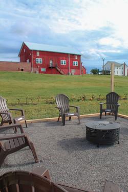 Firepit & Barn