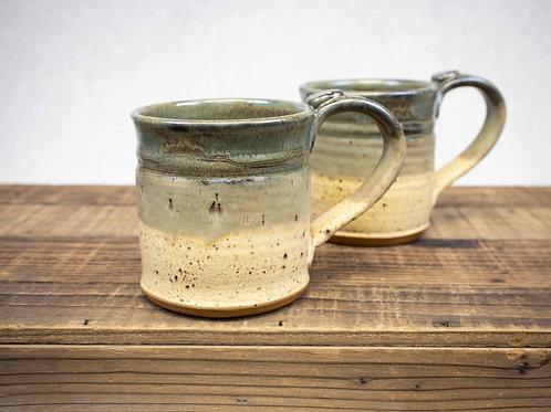 Wheel Thrown Stoneware Pottery Mug